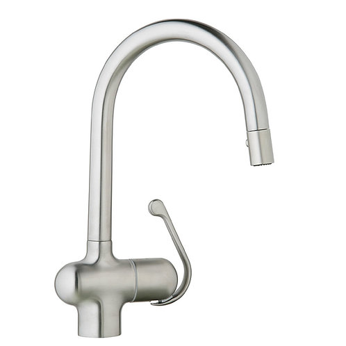 Grohe Ladylux Pro 2 Spray Pull-Down - Real Steel