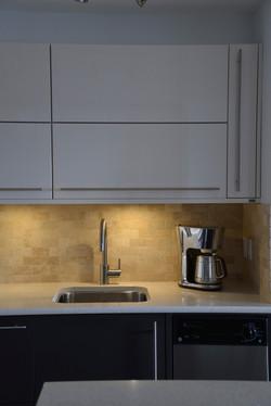 Under Cabinet Integrated Lighting