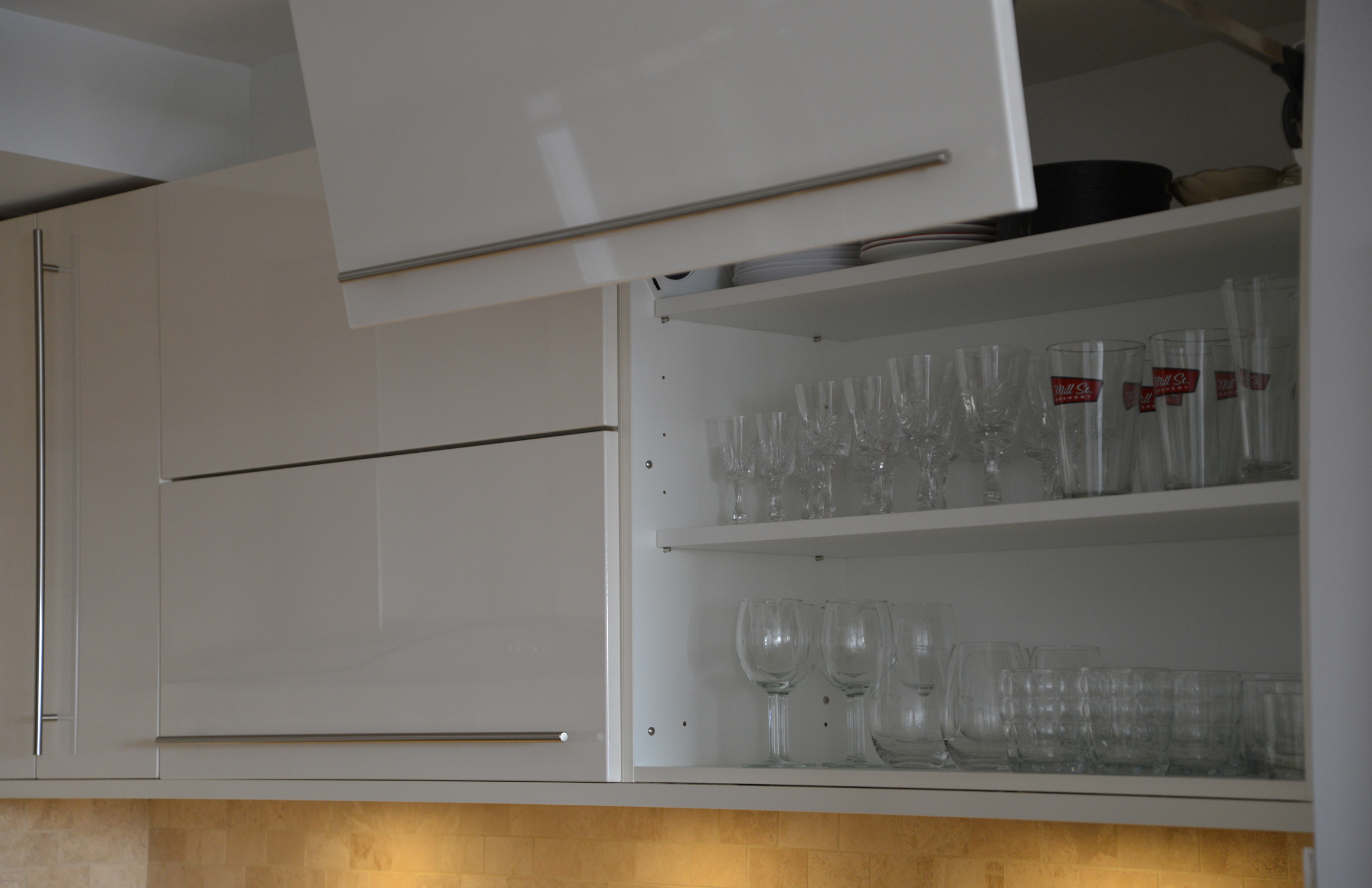 Lift-up Cabinetry