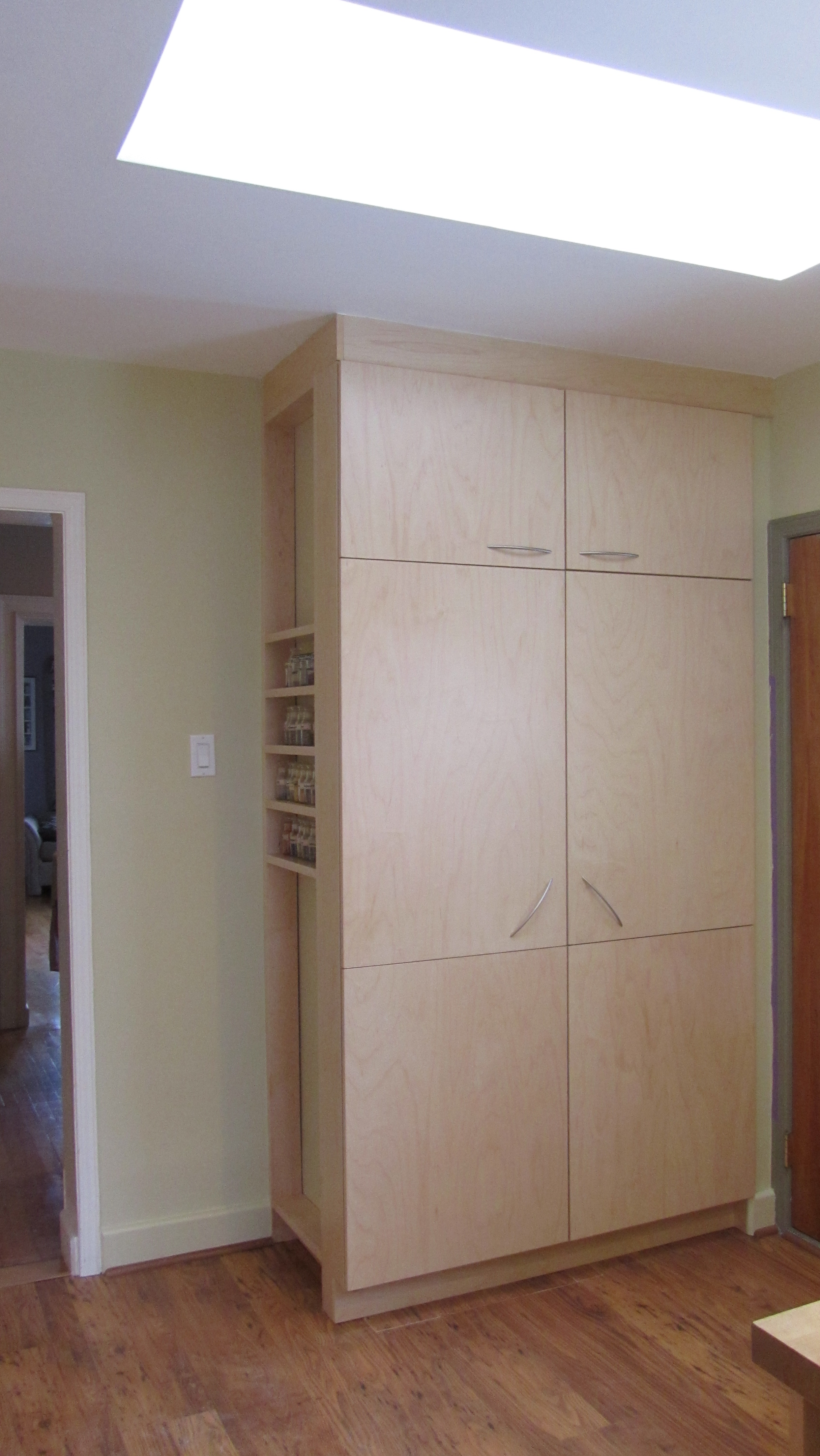 Custom Pantry Storage + Coat Closet