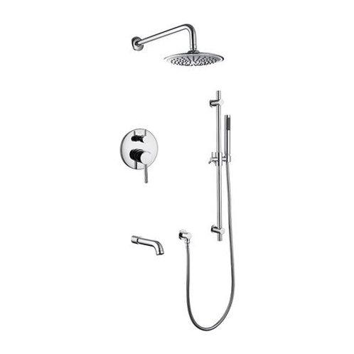 Madison Complete Shower Set, Chrome