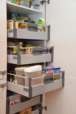 Pantry with Internal Pull-outs