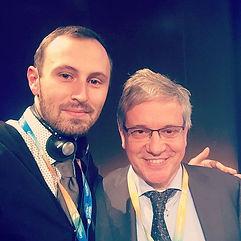 Я и проф.Paul Weigl, из университета Фра
