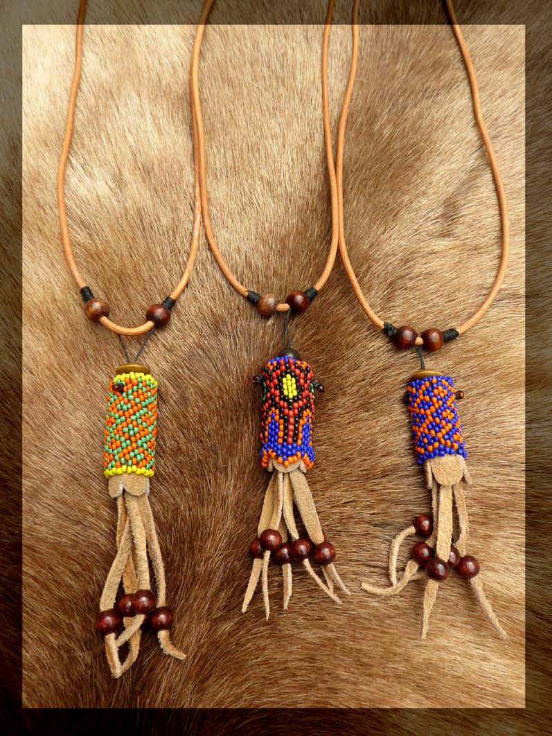 Plant medicine amulet