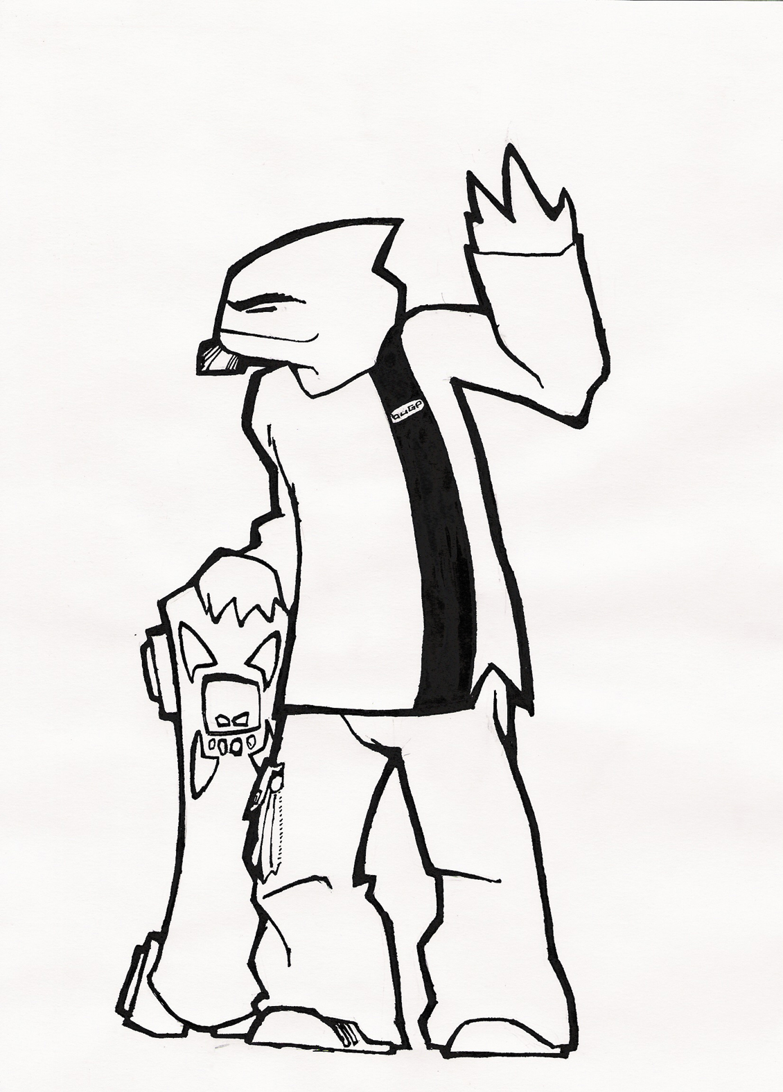 Bug Purr - Mascotte #3