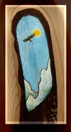 Beschilderde Veer - Sky dancer