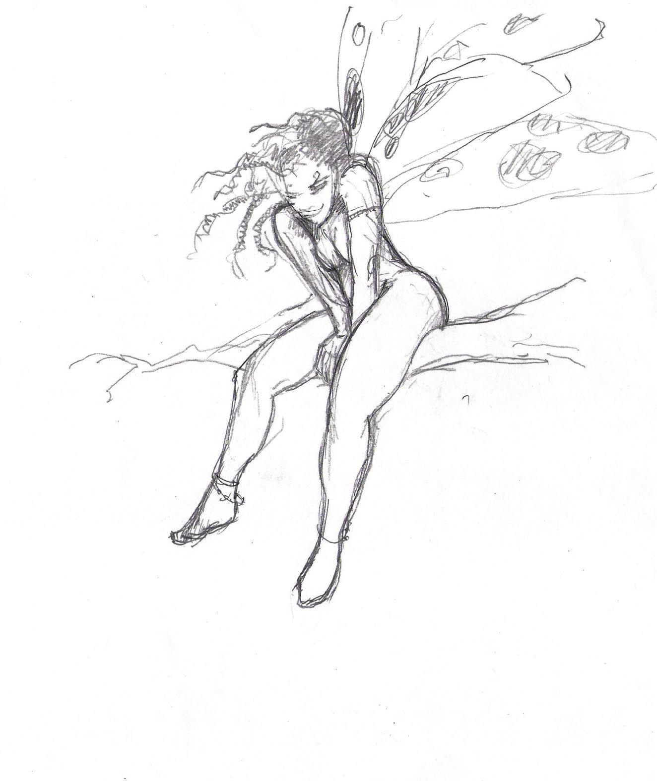 Bur 'K Tau - Schets - In the tree