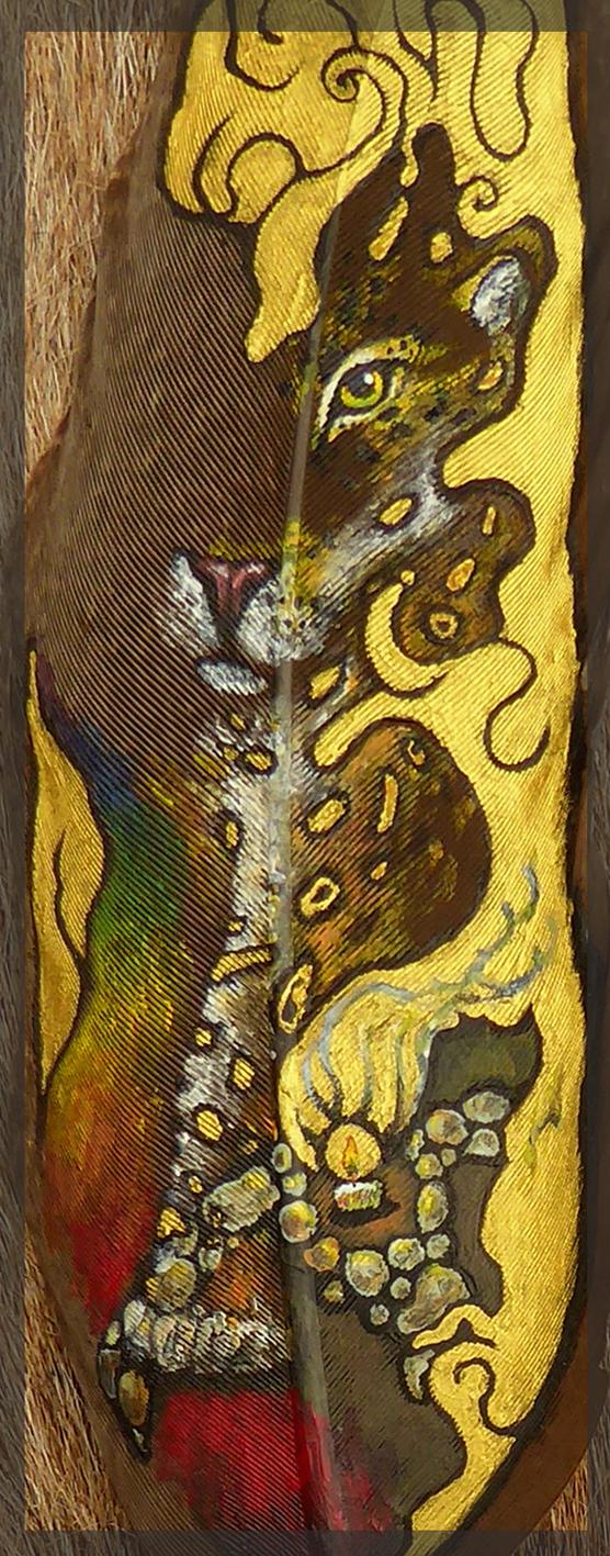 Jaguar Otorongo detail