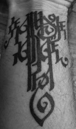 Naam tattoo