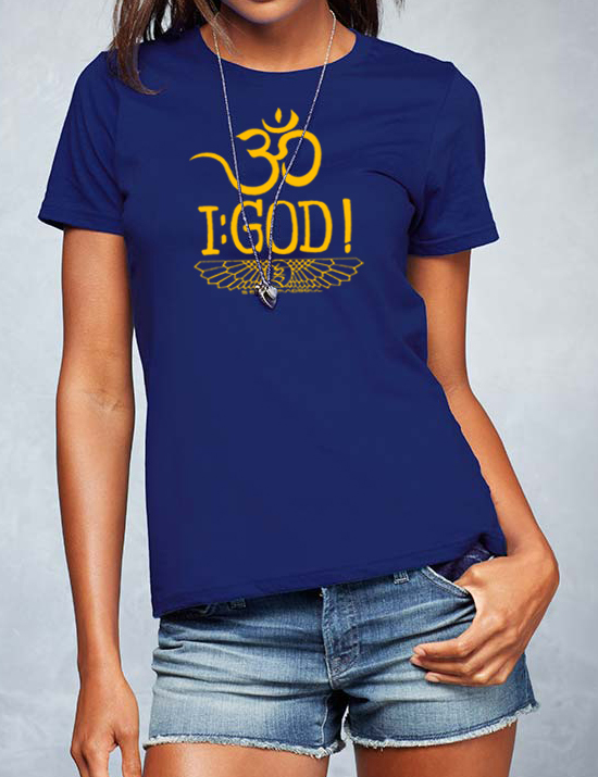 Om I : God ! - Shirt design