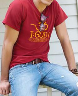 Om I : God ! - Shirt design