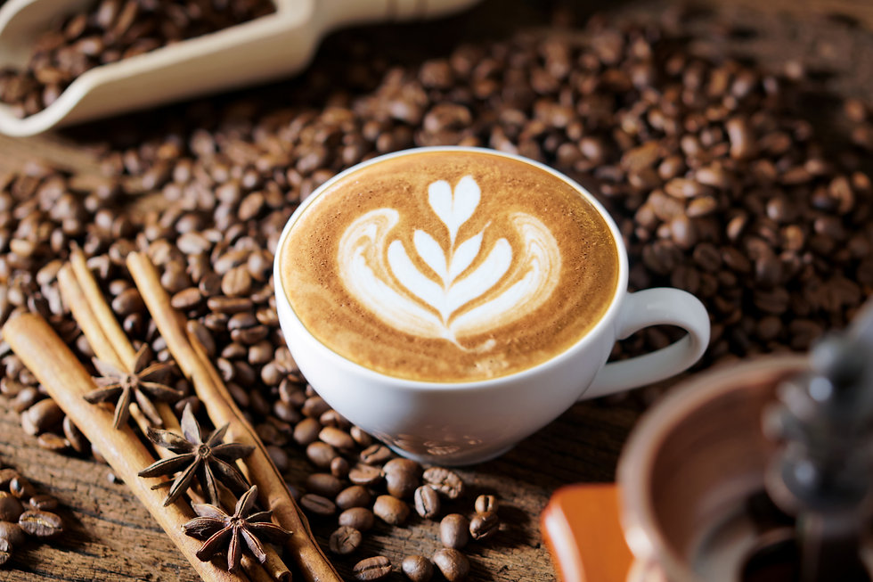 white-coffee-cup-roasted-coffee-beans-ar
