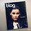 Nelly Furtado BLAG magazine cover photography Sarah J. Edwards Art Direction Sally A Edwards