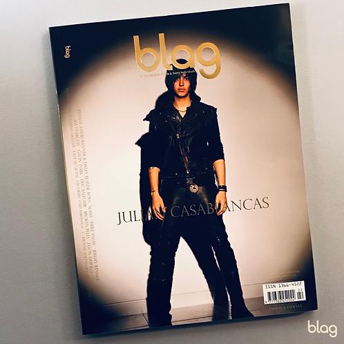 Julian Casablancas BLAG magazine cover photography Sarah J. Edwards Art Direction Sally A Edwards