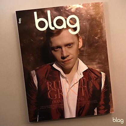 Rupert Grint BLAG magazine cover photography Sarah J. Edwards Art Direction Sally A Edwards
