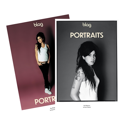 Limited Edition BLAG Portraits Poster Set: Amy Winehouse