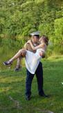 Military Couple Kisses