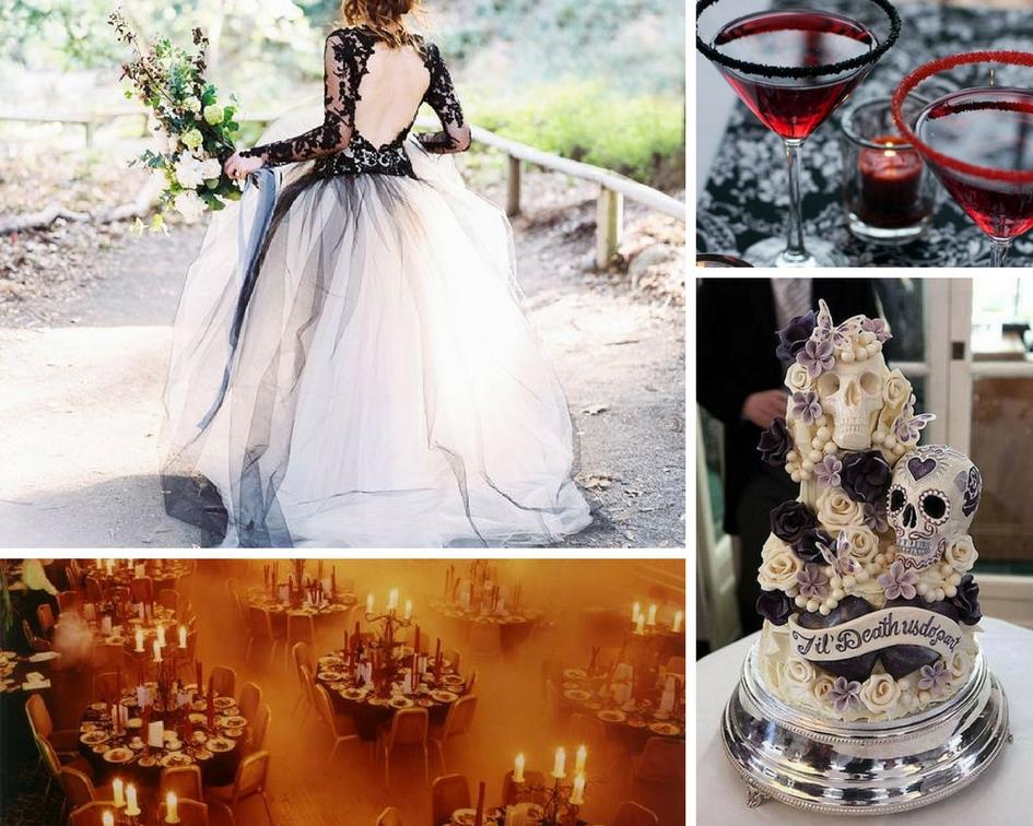 Halloween-Themed Wedding