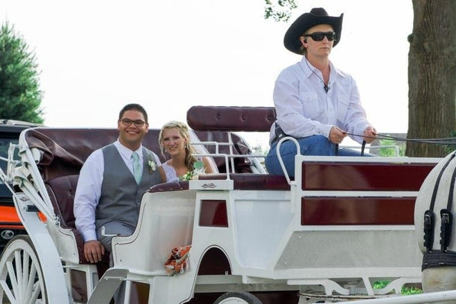 Wedding Day Carriage Ride