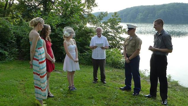 Ceremony Wedding Party