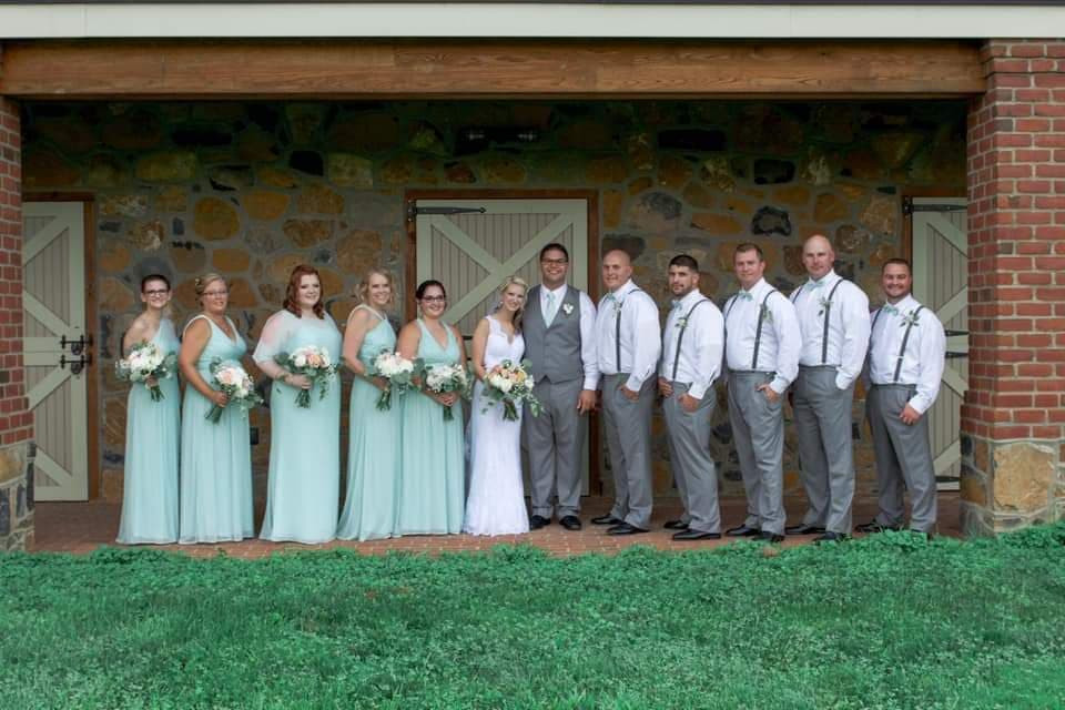 Jesse and Maggi's Wedding Party
