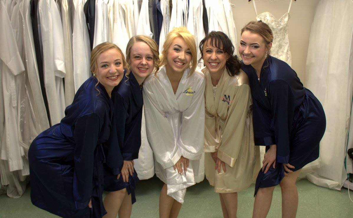 Bridal Party Dressing Robes