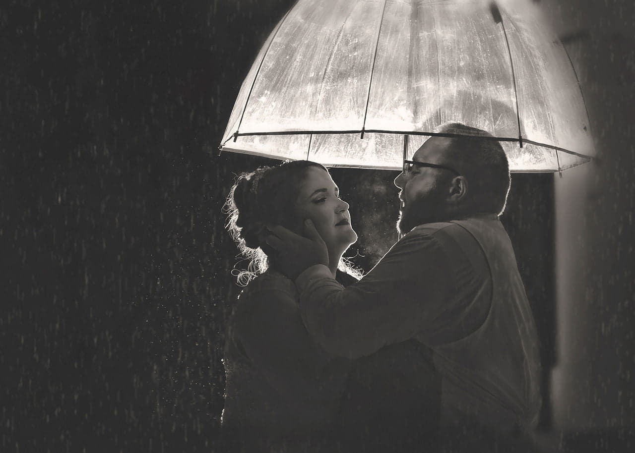 A Romantic Dance in the Rain