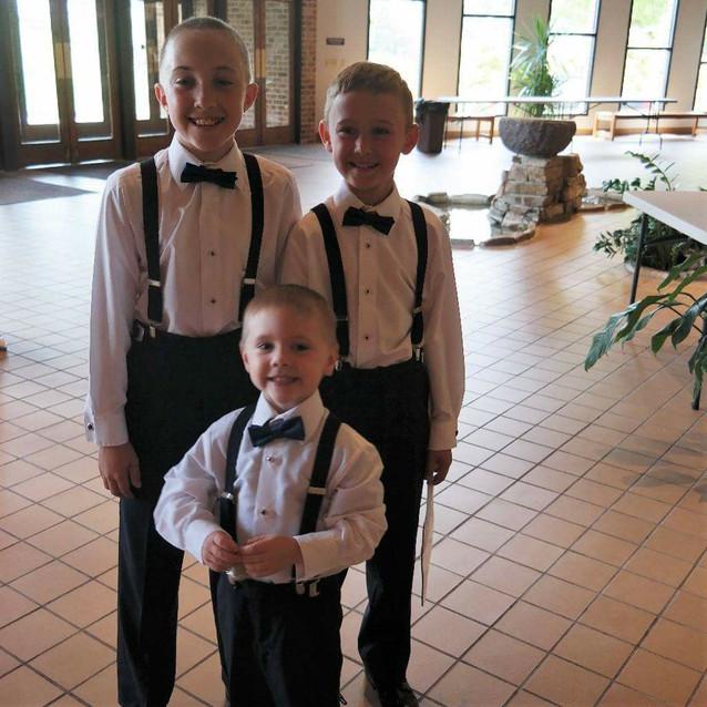 Ring Bearers/Junior Groomsmen
