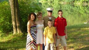 Bride's Family Portrait