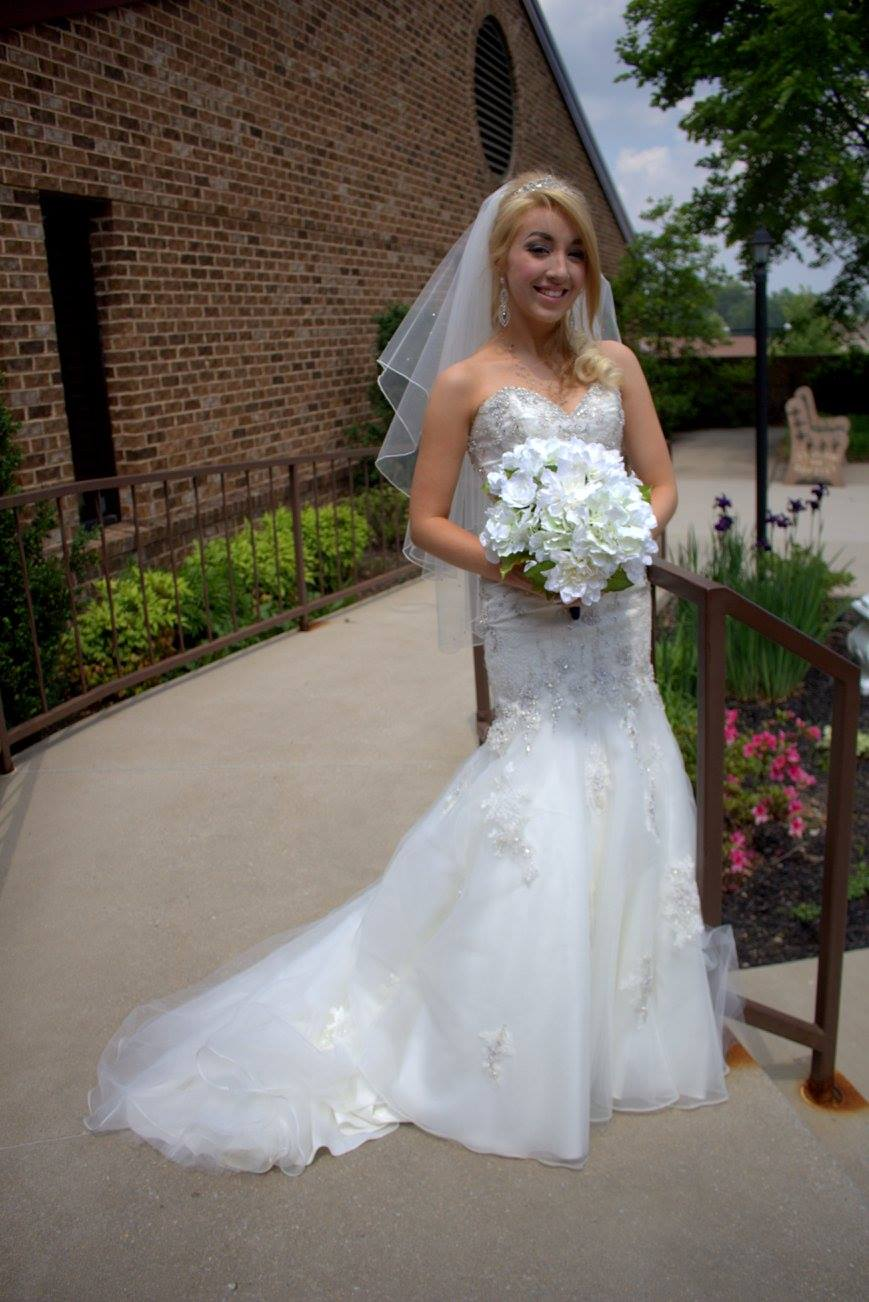 Bridal Attire and Bouquet