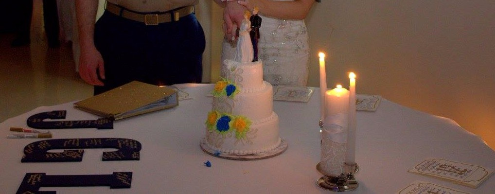 Cake Table and Guest Book