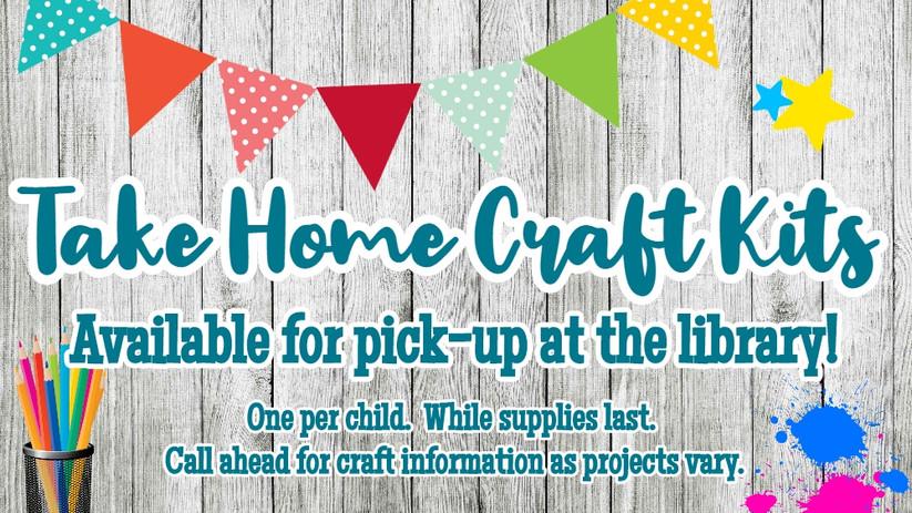 Take Home Craft Kits