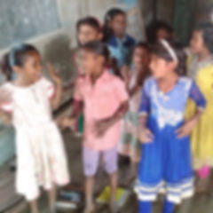 Bhongaa school for the children of the B