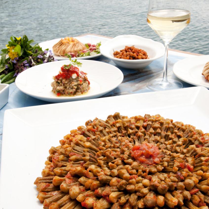 Piatti ristorante Thalassaki