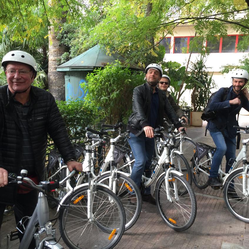 Un giro in bici con solebike