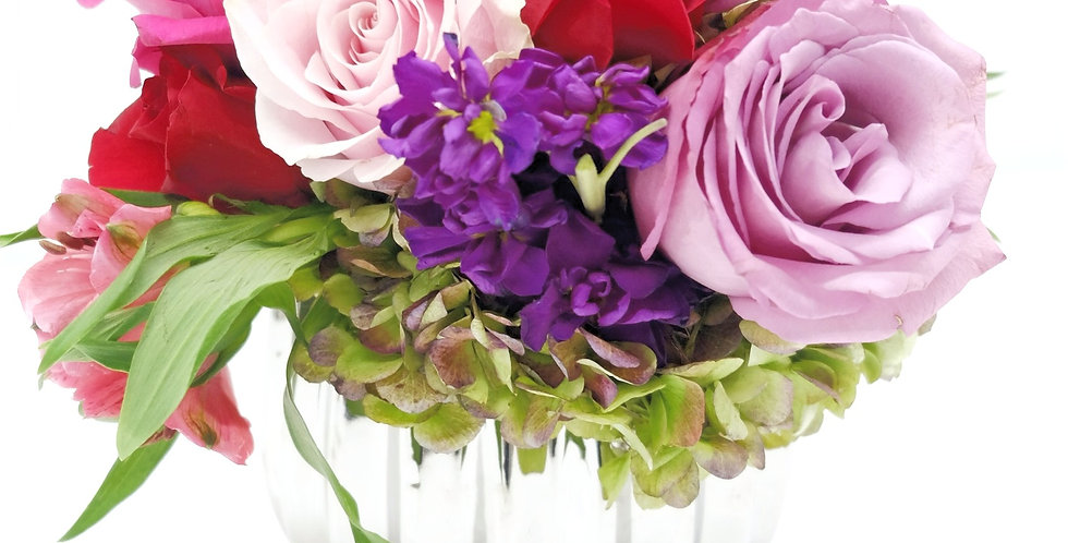 Jewel Tone Centerpiece II