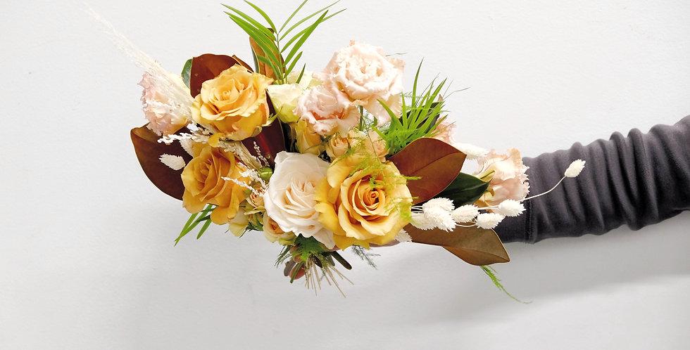 Mustard & Cream Bridesmaids Bouquet