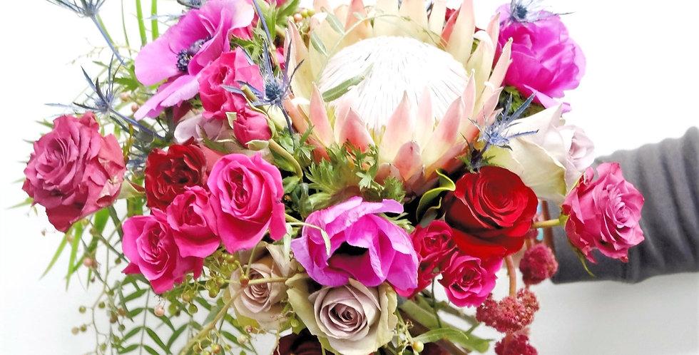 Dramatic Jewel Tone Bridal Bouquet