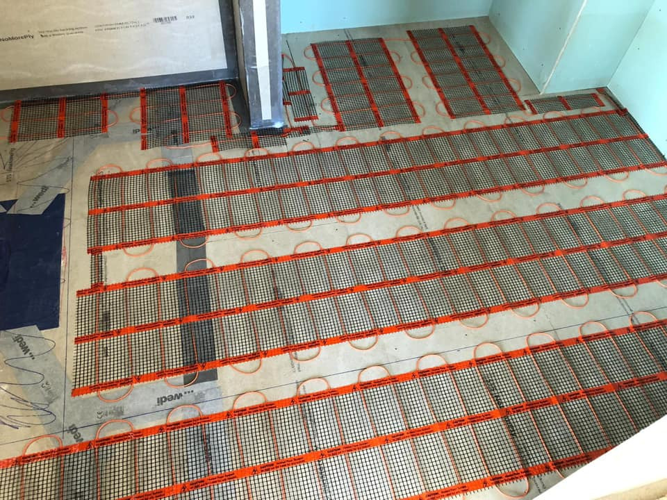 Underfloor Heating At Bliss Hotel