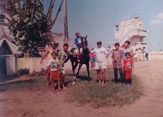 Registro das primeiras cavalgadas no Farol de São Thomé, em Campos dos Goytacazes, Rio de Janeiro.