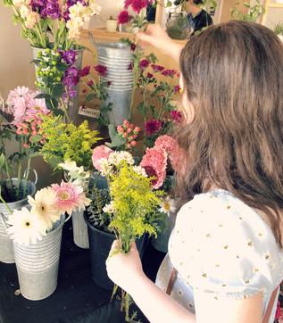 Picking Blooms