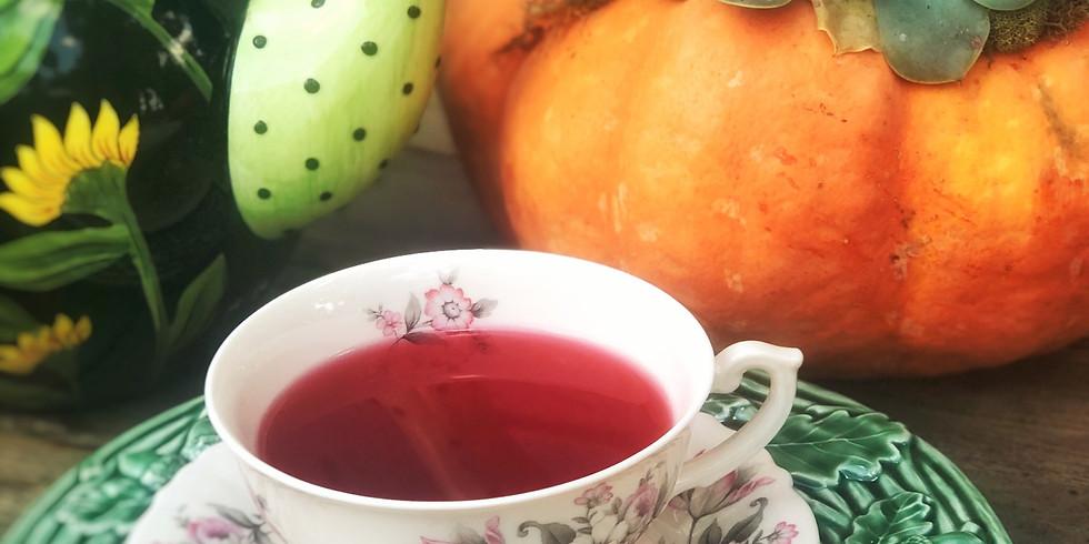 Pumpkins, Spice and a Very Nice Cream Tea