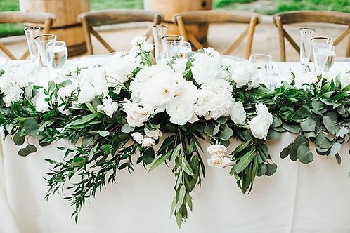 Bridal Head Table Feature
