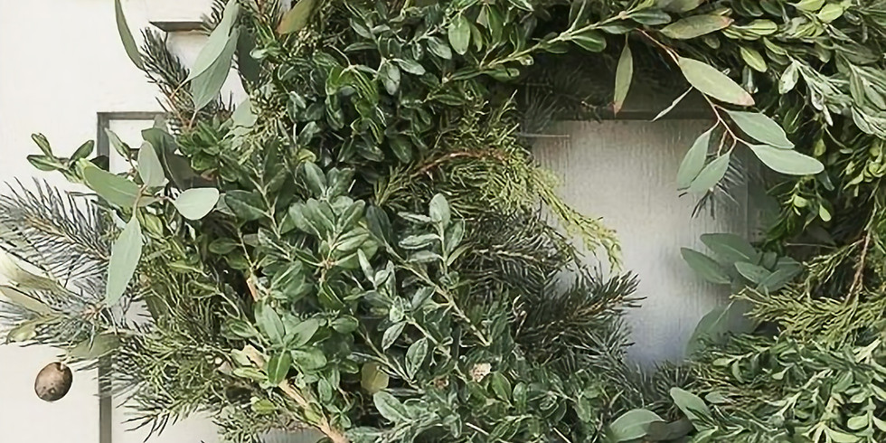Holiday Wreath Making & Teatime Social
