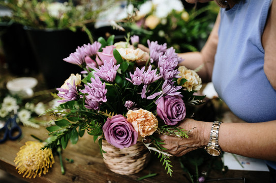 Learn tips for creating an arrangment
