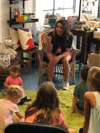 Storytime with Lisa Bell