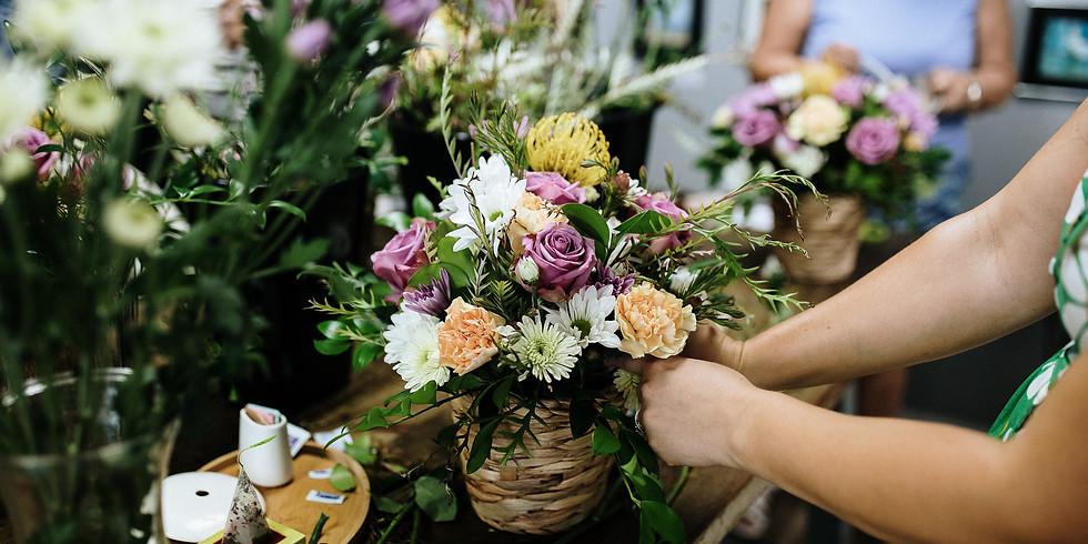 REGISTRATION CLOSED: Flower Fun @ Canon Coffee