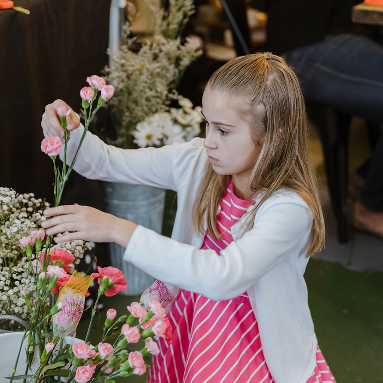 Kids Flower Fun - Virtual Workshop