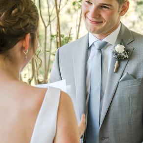 Kaylie & Dylan's Intimate Riverside Wedding