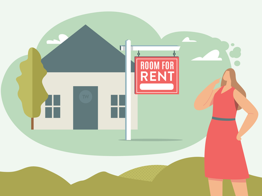 Living with tenants